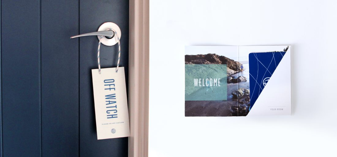 do not disturb sign design with sailing rope, nautical door hanger for hotel guest rooms, creative key card packet
